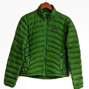 Patagonia Down Sweater Kelly Green XS